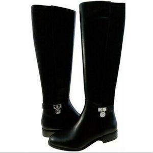 MICHAEL KORS- Hamilton Stretch Leather Boot